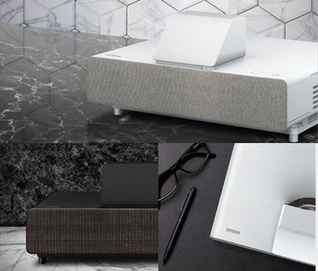 画像: ホワイトとブラックの2色展開 www.epson.jp