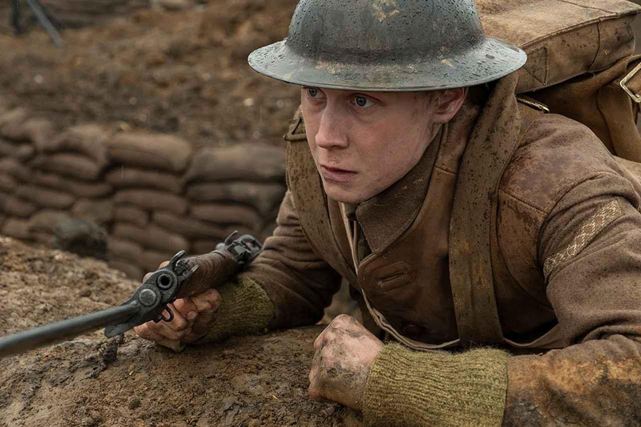 画像1: 英国の若手&ベテランが揃い踏み 「1917 命をかけた伝令」(2019)