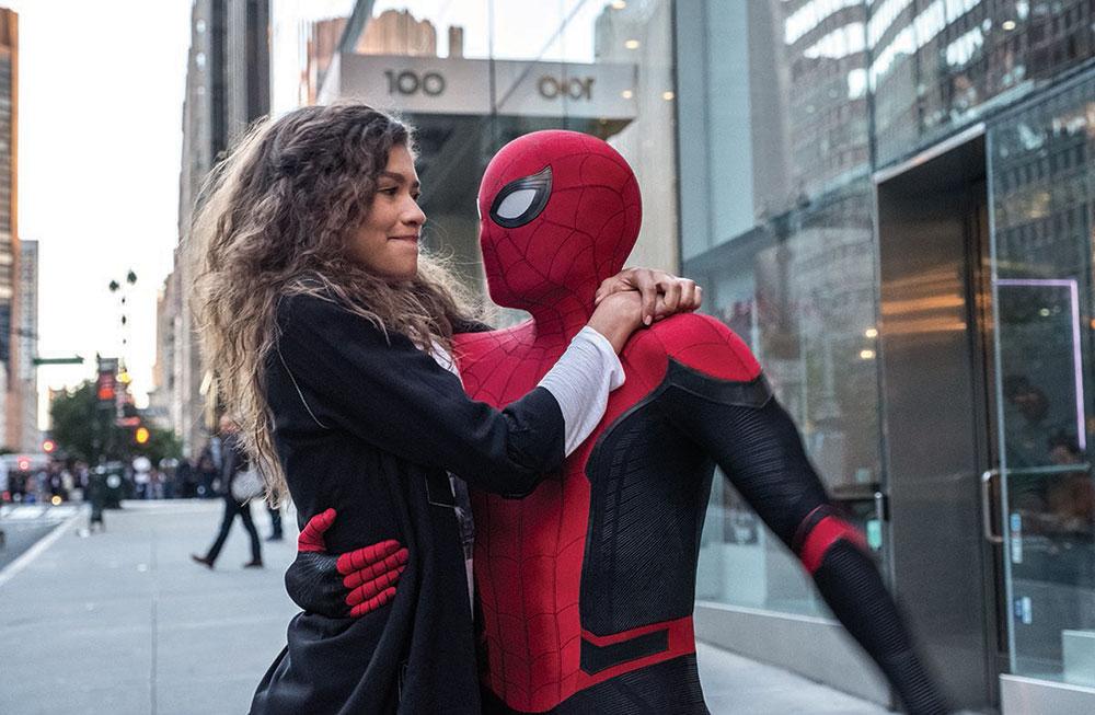 画像: MJとの初々しい恋愛模様にキュン死(写真は「スパイダーマン:ファー・フロム・ホーム」)