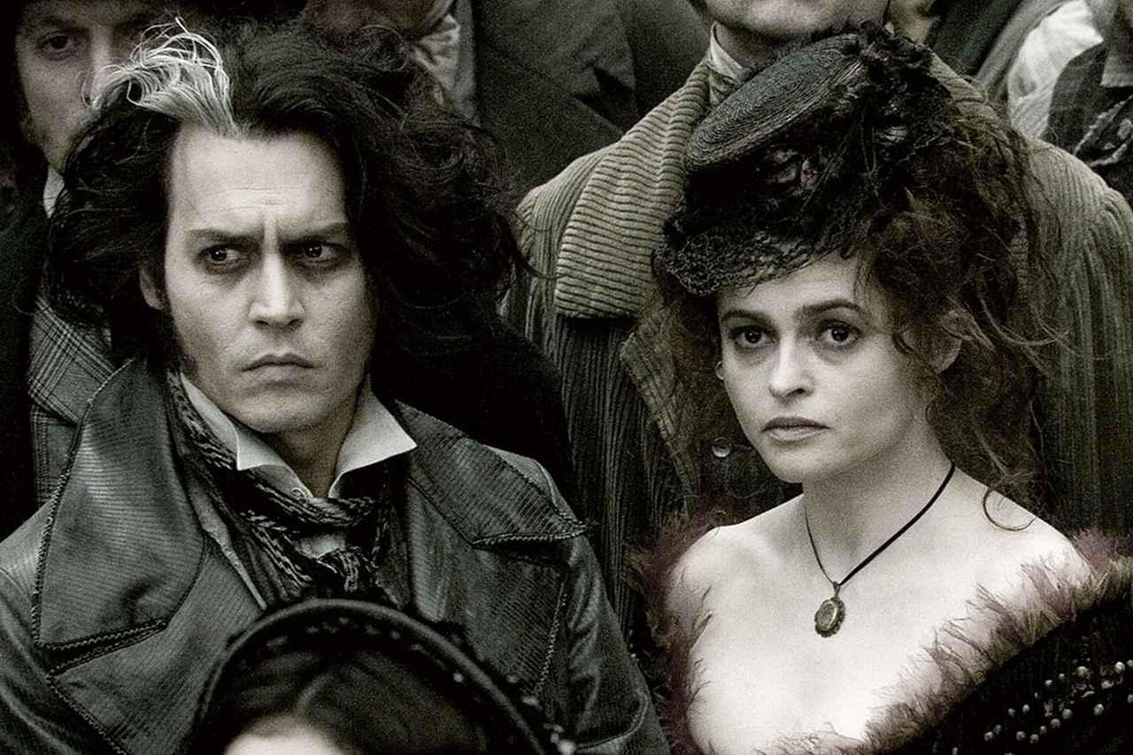 画像: ゴールデングローブ賞主演賞を受賞した「スウィーニー・トッドフリート 街の悪魔の理髪師」