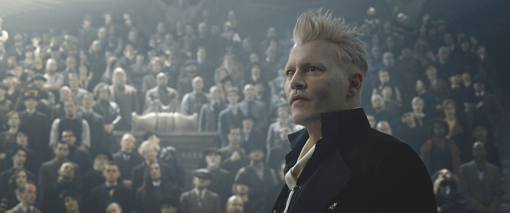 画像: 「ファンタスティック・ビースト」シリーズではグリンデルヴァルド役を熱演