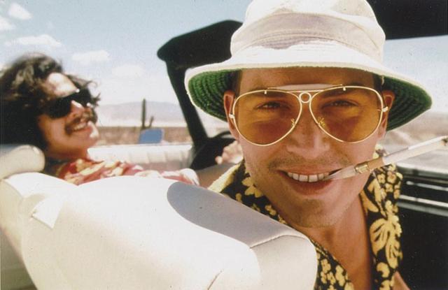 画像: トンプソン原作の「ラスベガスをやっつけろ」で主演したジョニー
