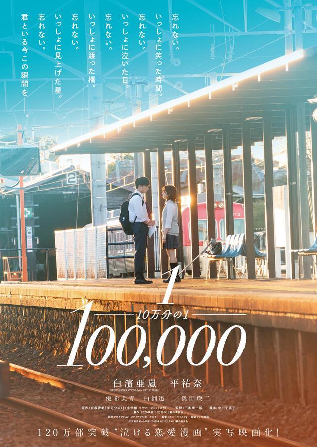 画像: ©宮坂香帆・小学館/2020映画「10万分の1」製作委員会