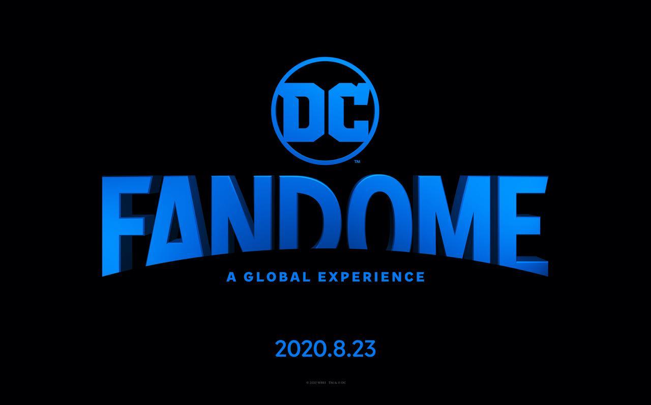画像: 2020年8月に開催される『DCファンドーム』のロゴマーク
