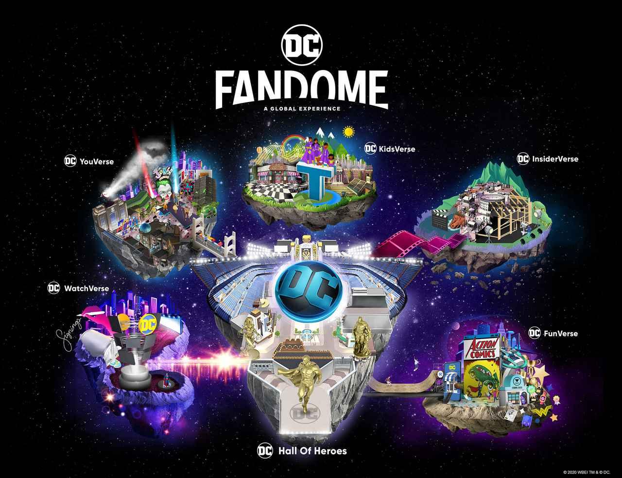 画像: DCファンドーム DCコミックス ワーナー・ブラザース