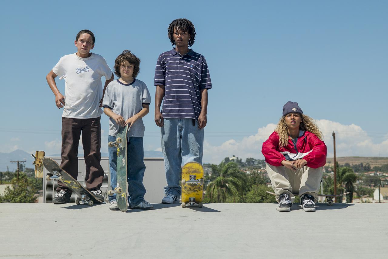 画像: 若者グループのメンバーは全員プロのスケートボーダー