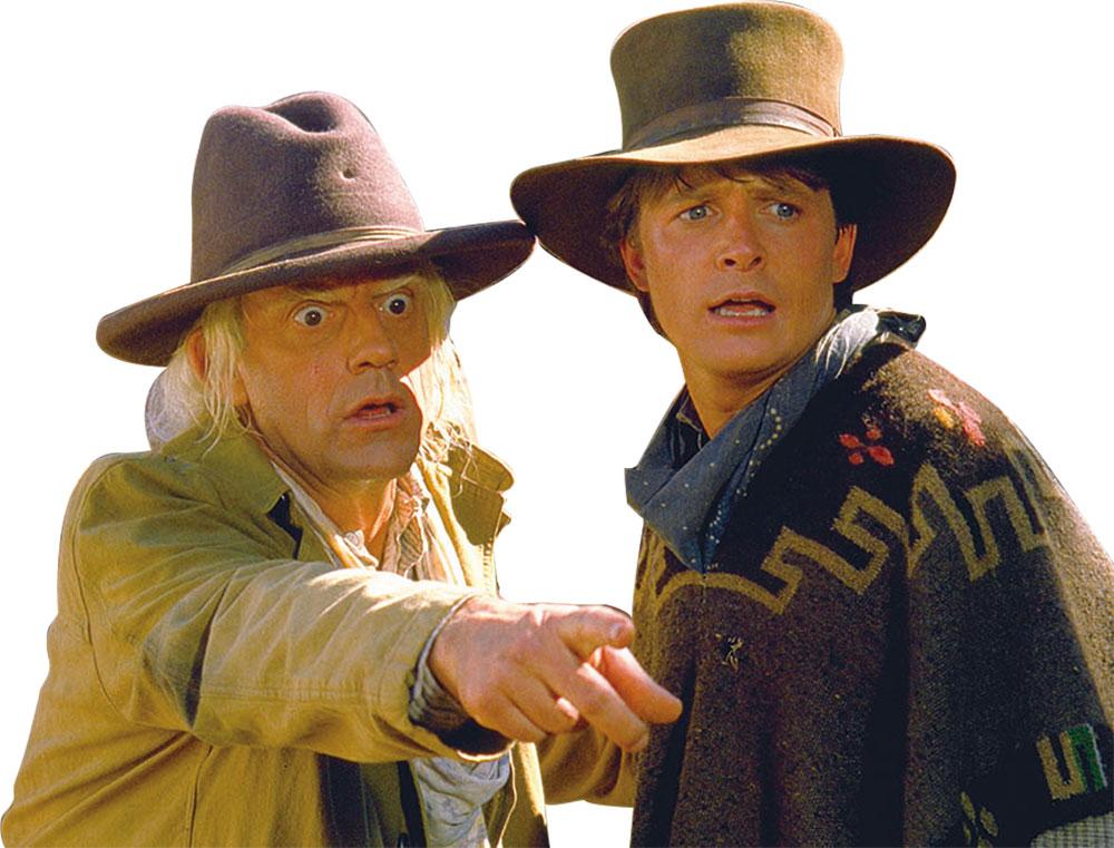 画像: 3作目ではともに西部開拓時代へタイムスリップ
