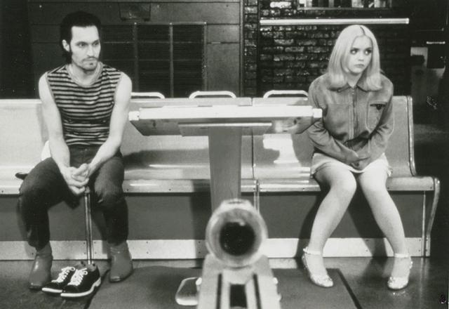 画像: 「バッファロー'66」のヴィンセント・ギャロ(左)