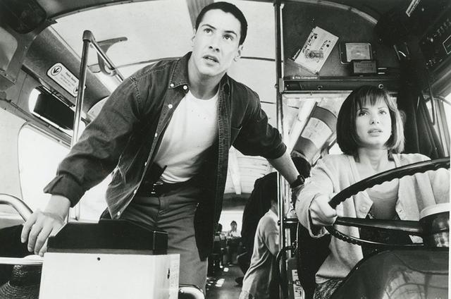 画像: アクションヒーロー、キアヌの出世作 「スピード」(1994)