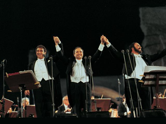 画像2: 奇跡の歌声が甦る! 三大テノール30周年の記念映画が公開決定