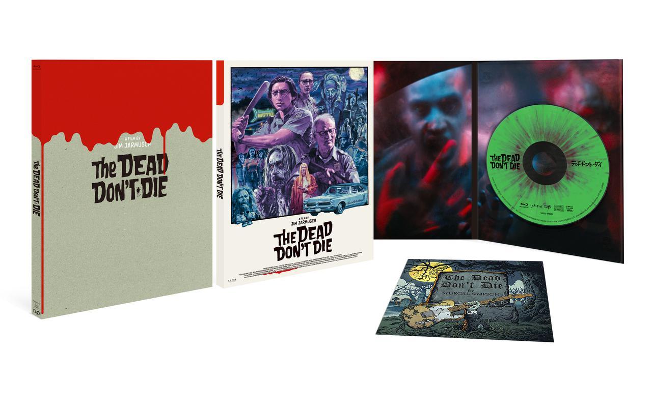 画像: Blu-ray限定 デジパック仕様/スリーブケース&テーマ曲「The Dead Don't Die」CDジャケット柄ステッカー付