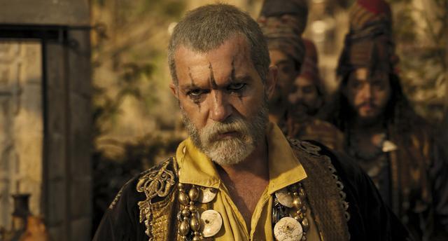 画像: 海賊王を演じたアントニオ・バンデラス