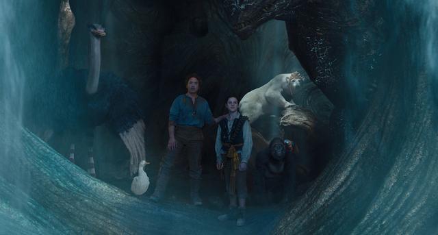 画像: ドリトル先生と仲間たちが大海原に乗り出すアクション・アドベンチャー