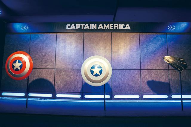画像: キャプテン・アメリカ/歴代のシールド