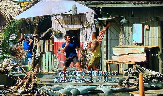 画像: 格闘家のブレン・フォスターを起用