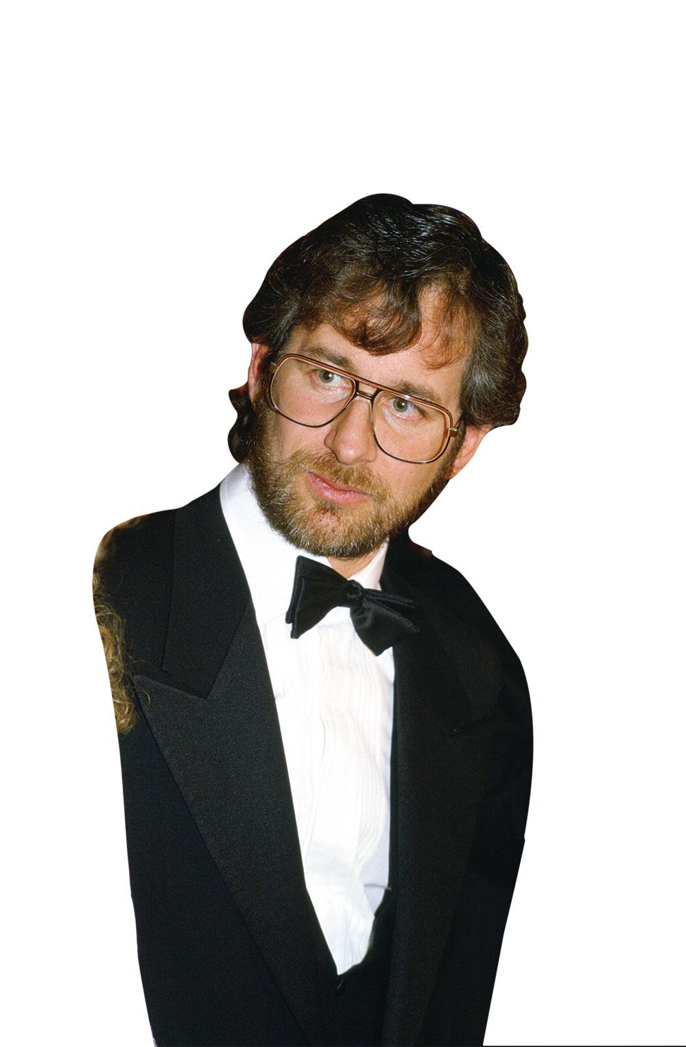 画像: 1985年「バック・トゥ・ザ・フューチャー」の英国ロイヤル・プレミアに出席した時のスピルバーグ Photos by Getty Images