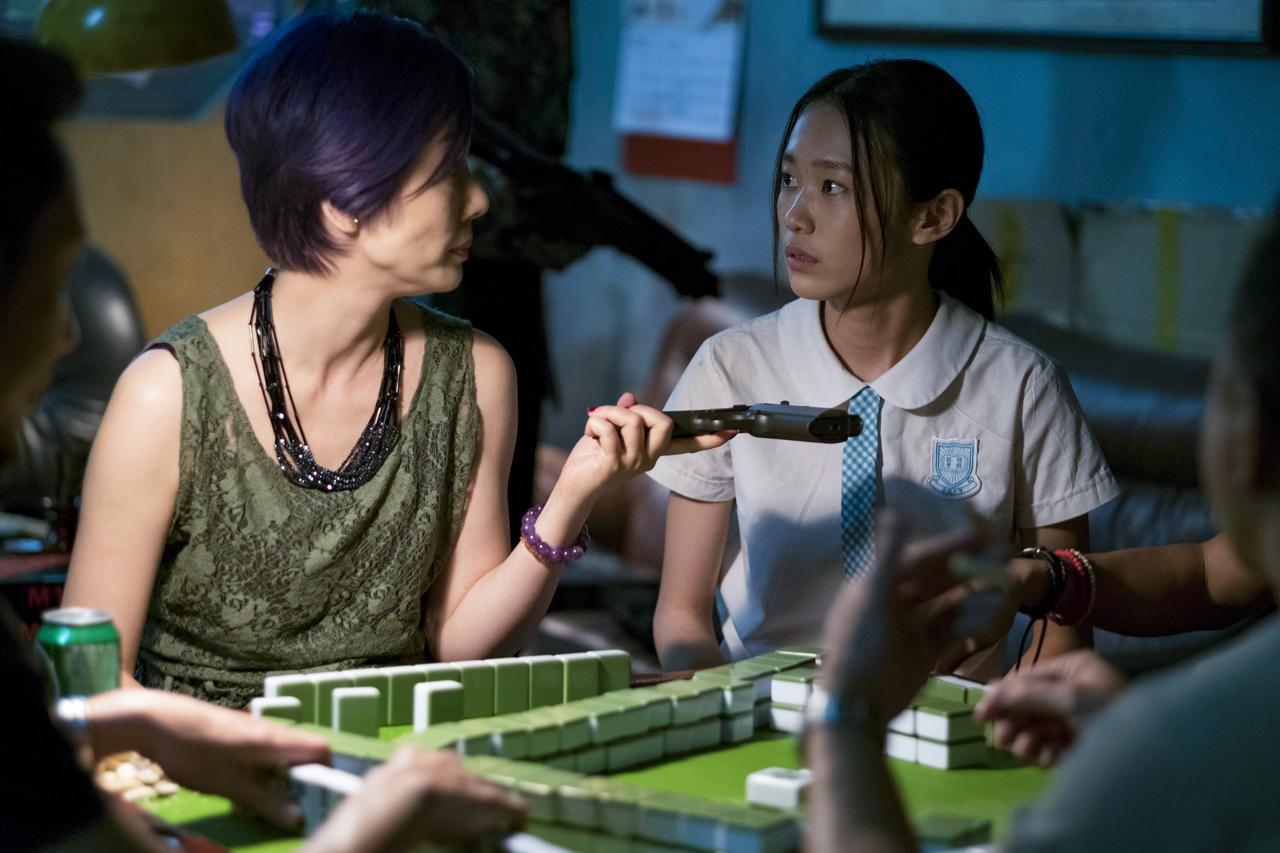 画像: 一人の少女が軽い気持ちで密輸という犯罪に加担する展開がサスペンスフル