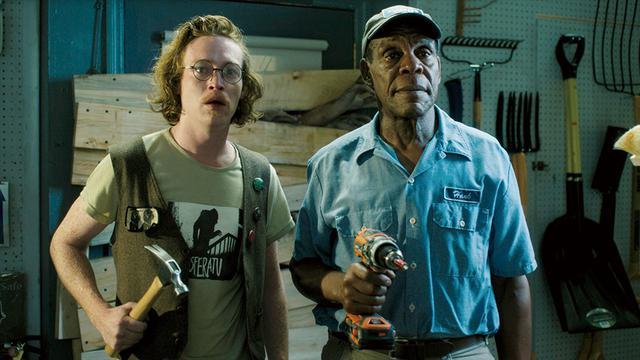 画像: 初参加!ケイレブ・ランドリー・ジョーンズ(左)、ダニー・グローヴァー(右)