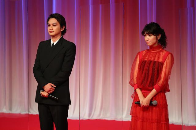 画像: ©2020 TIFF キャストからは北村匠海と瀧内公美が登壇