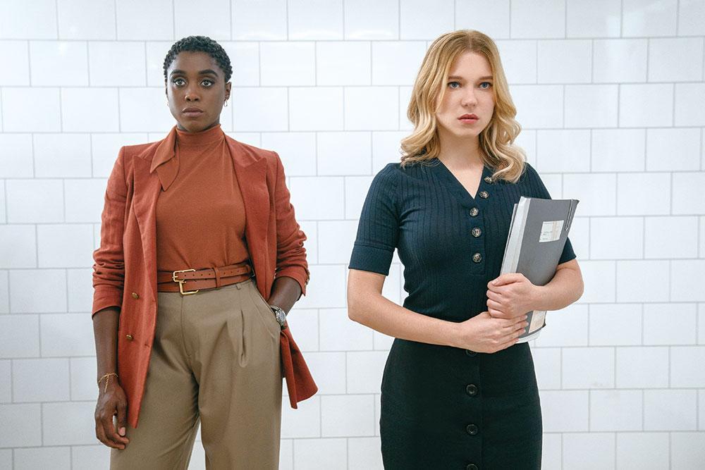 画像: マドレーヌ(レア・セドゥ、右)にはまだボンドも知らない秘密が隠されている?