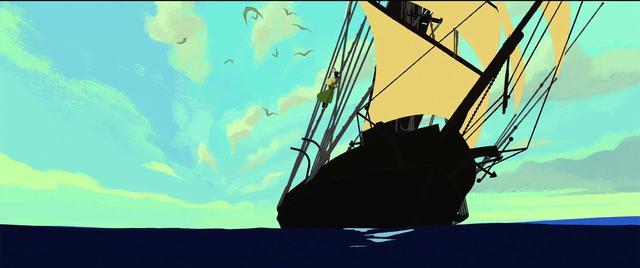"""画像2: 主人公サーシャの冒険のカギを握る""""船""""へのこだわりが詰まった映像解禁!"""