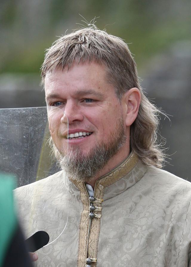 画像: 主演最新作『ザ・ラスト・デュエル』のアイルランド・ロケを再開したマット・デイモン