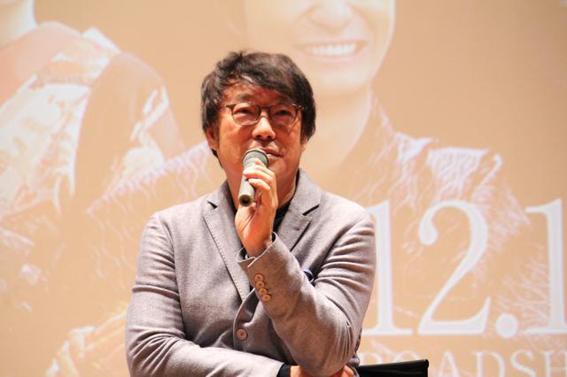 画像: 学生からの田中監督へのQ&A