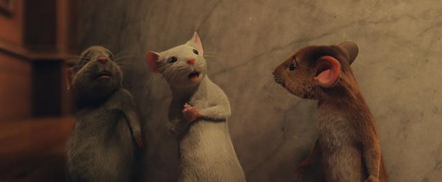 画像: ポイント3:なぜかかわいい、映画のネズミたち