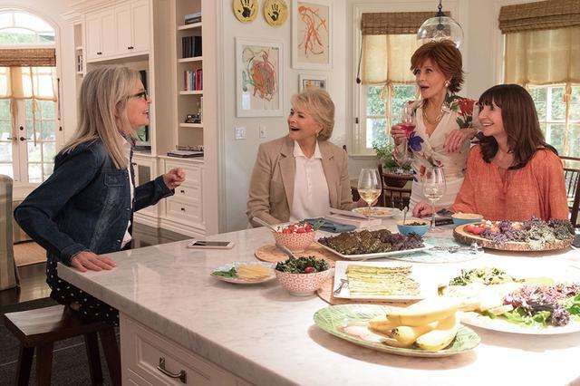 画像2: ハリウッド4大女優が見どころを解説「また、あなたとブッククラブで」