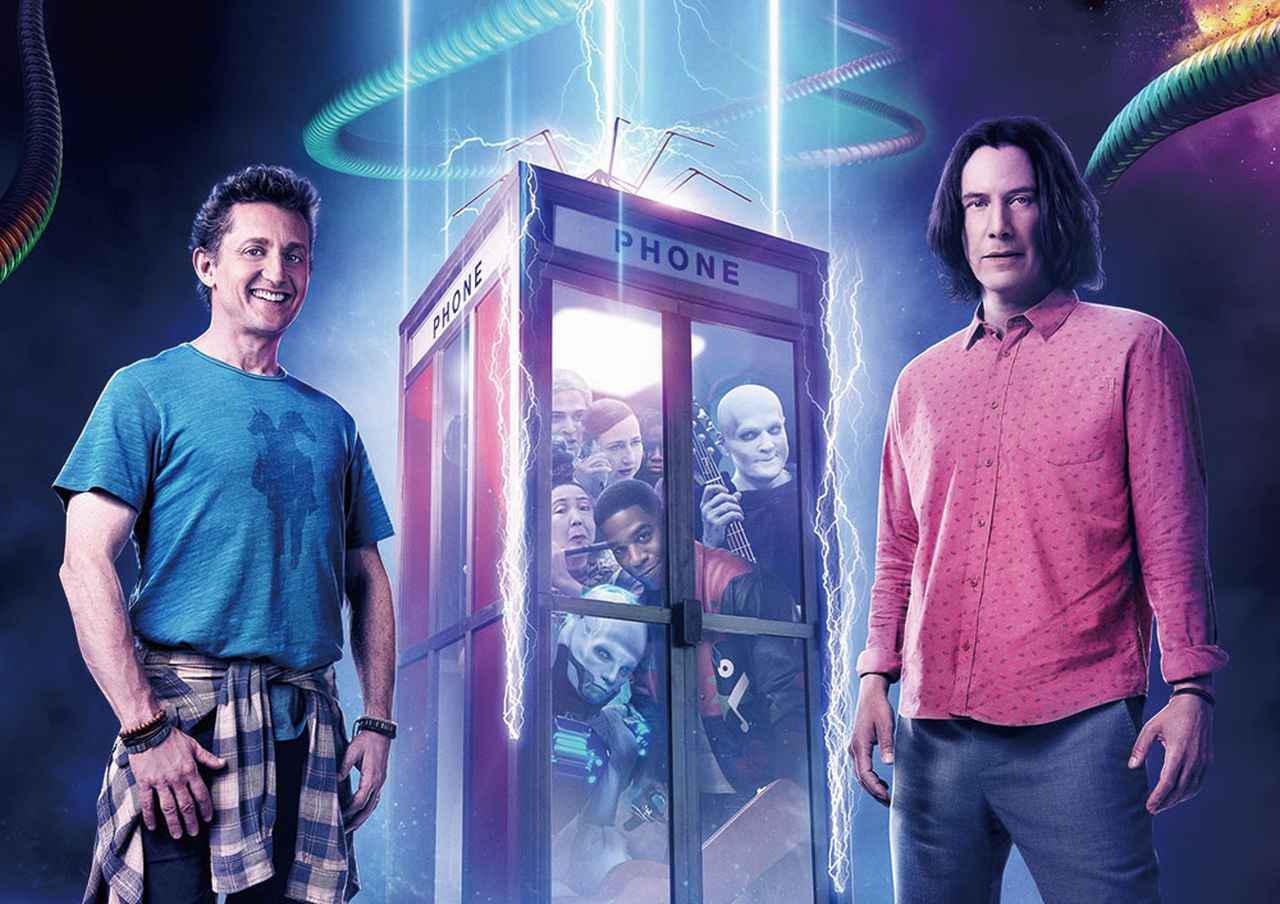 画像: 能天気コンビのビルとテッドが再び電話ボックスで時空旅行へ!