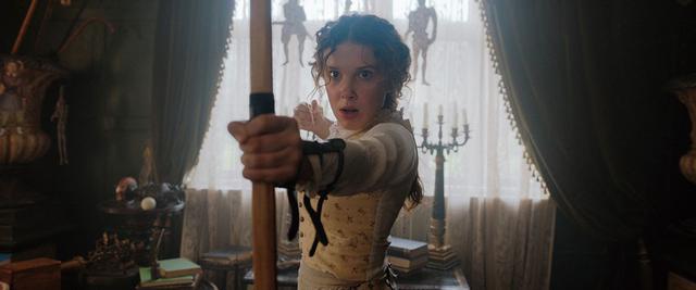 画像: Netflix映画「エノーラ・ホームズの事件簿」独占配信中
