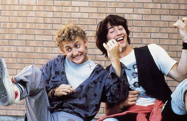 画像: ビルとテッドの大冒険(1989)
