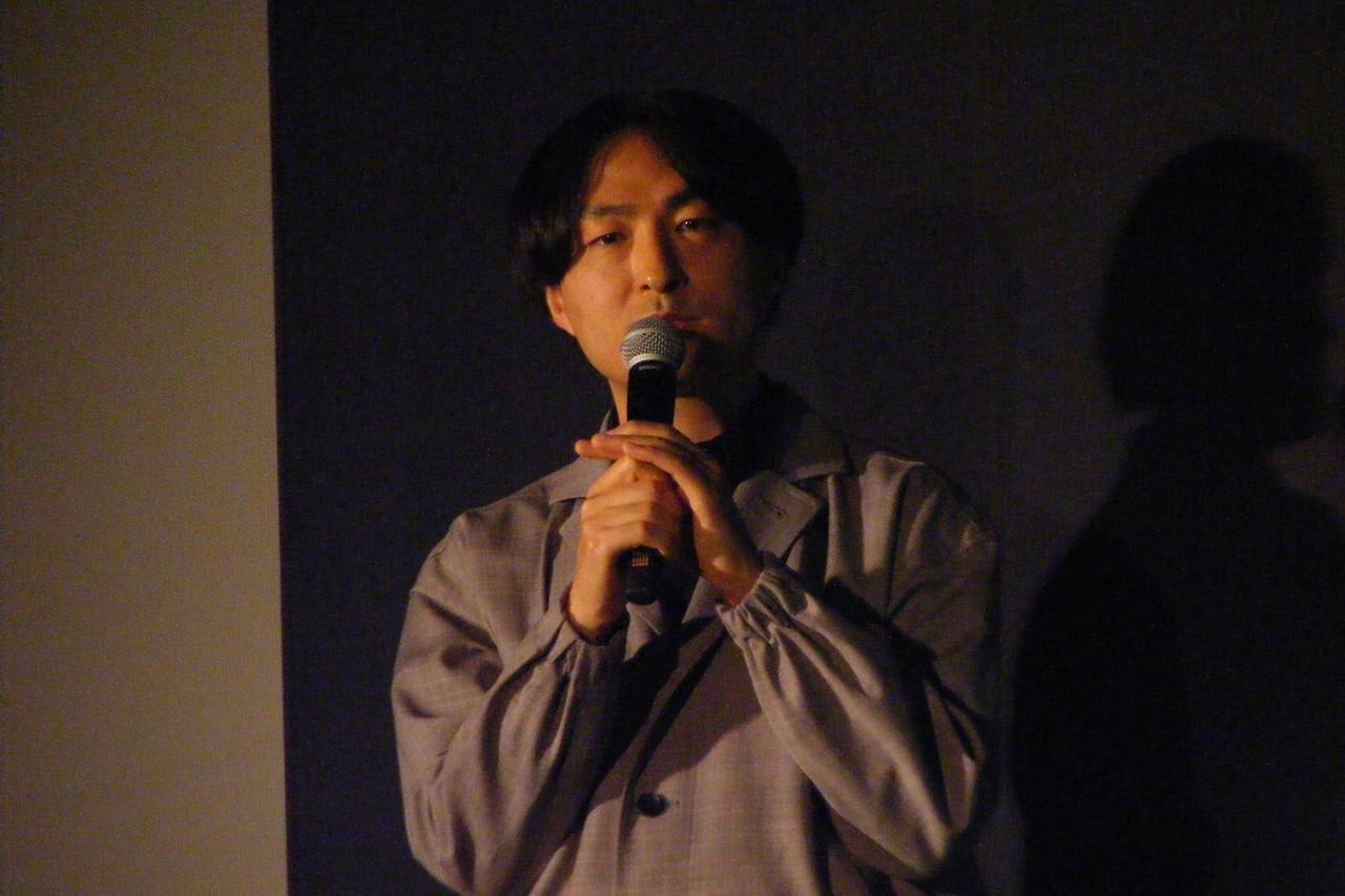 画像5: 観客を前に冒頭の挨拶