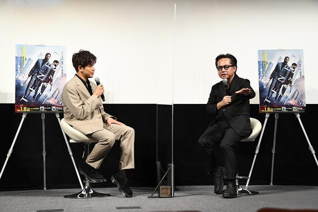 画像1: 森崎ウィンが流暢な英語でノーラン監督へ熱烈アピール!