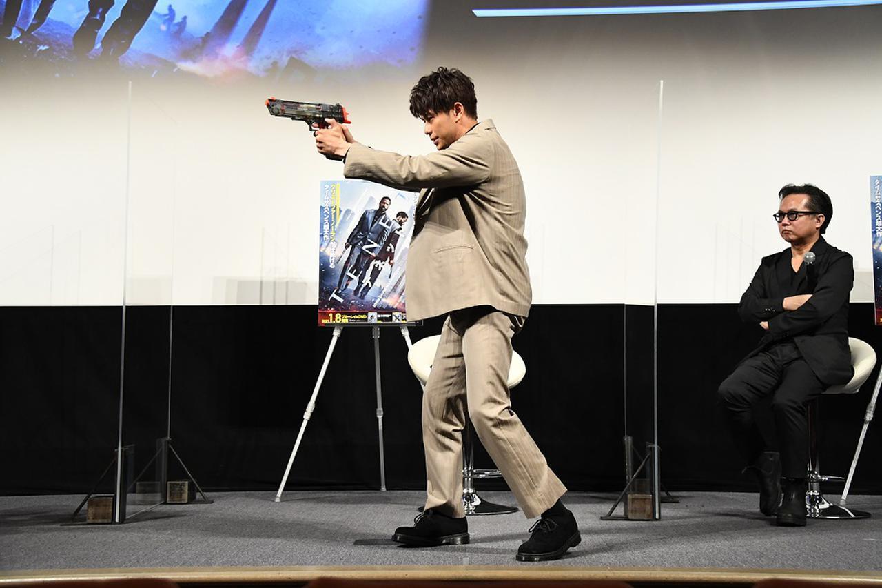 画像2: 森崎ウィンが流暢な英語でノーラン監督へ熱烈アピール!