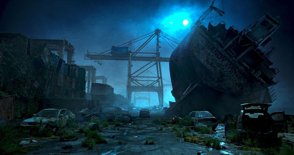 画像: 文明が崩壊した後の荒涼とした世界観に注目