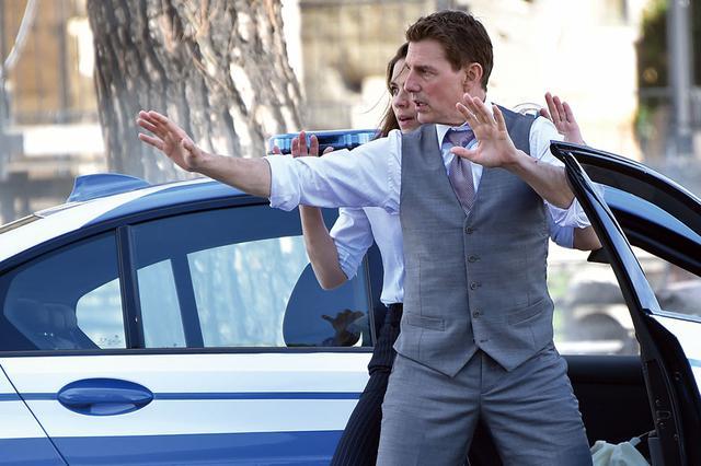 画像: \ここに注目!/ 毎回過激アクションを見せるトムがまたも〝前作超え〞に挑む!