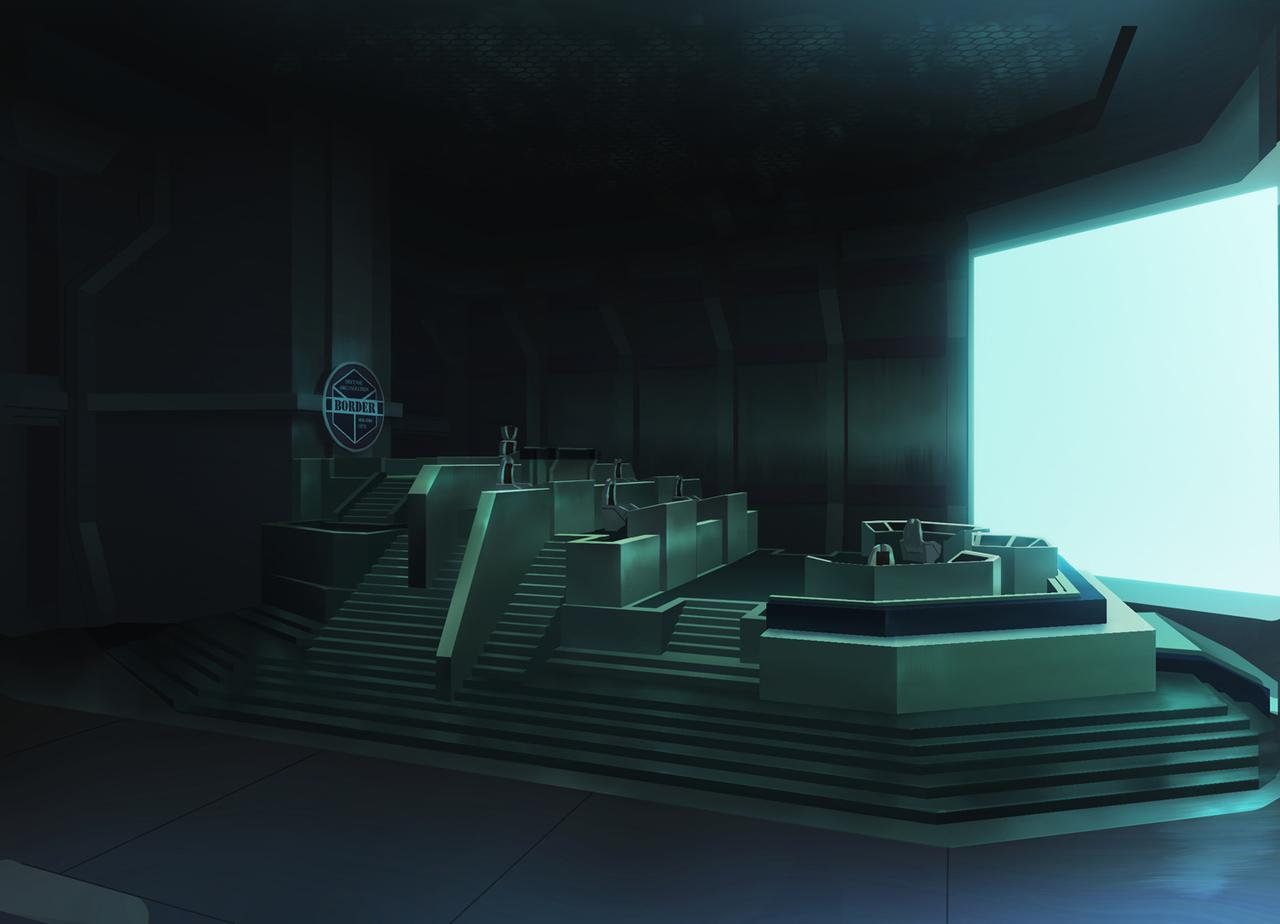 画像: ボーダー基地司令部(オペレーションルーム)