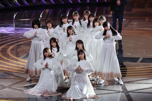 画像1: 櫻坂46 リハーサルでのパフォーマンスの模様