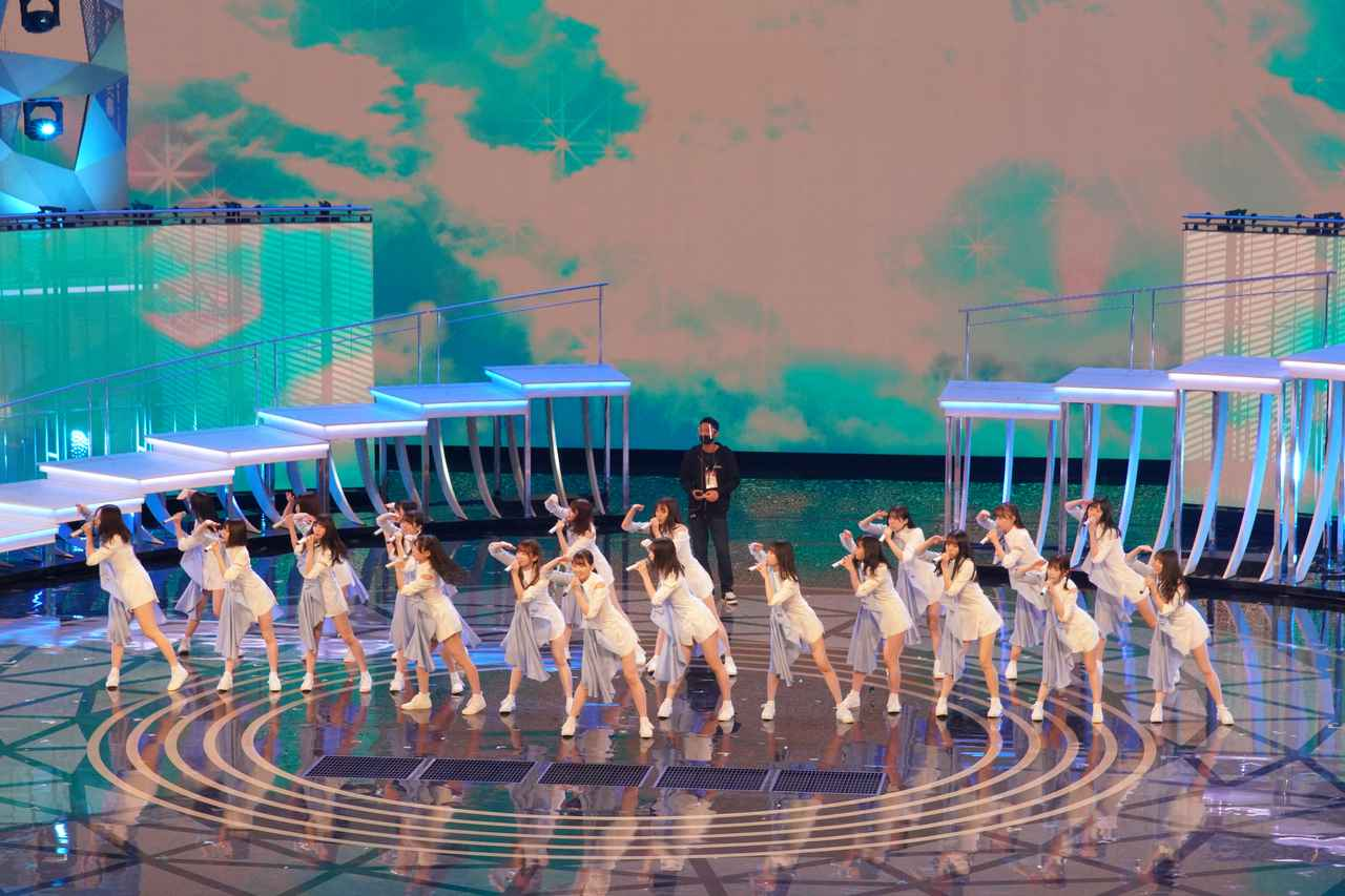 画像7: 日向坂46 リハーサルでのパフォーマンスの模様