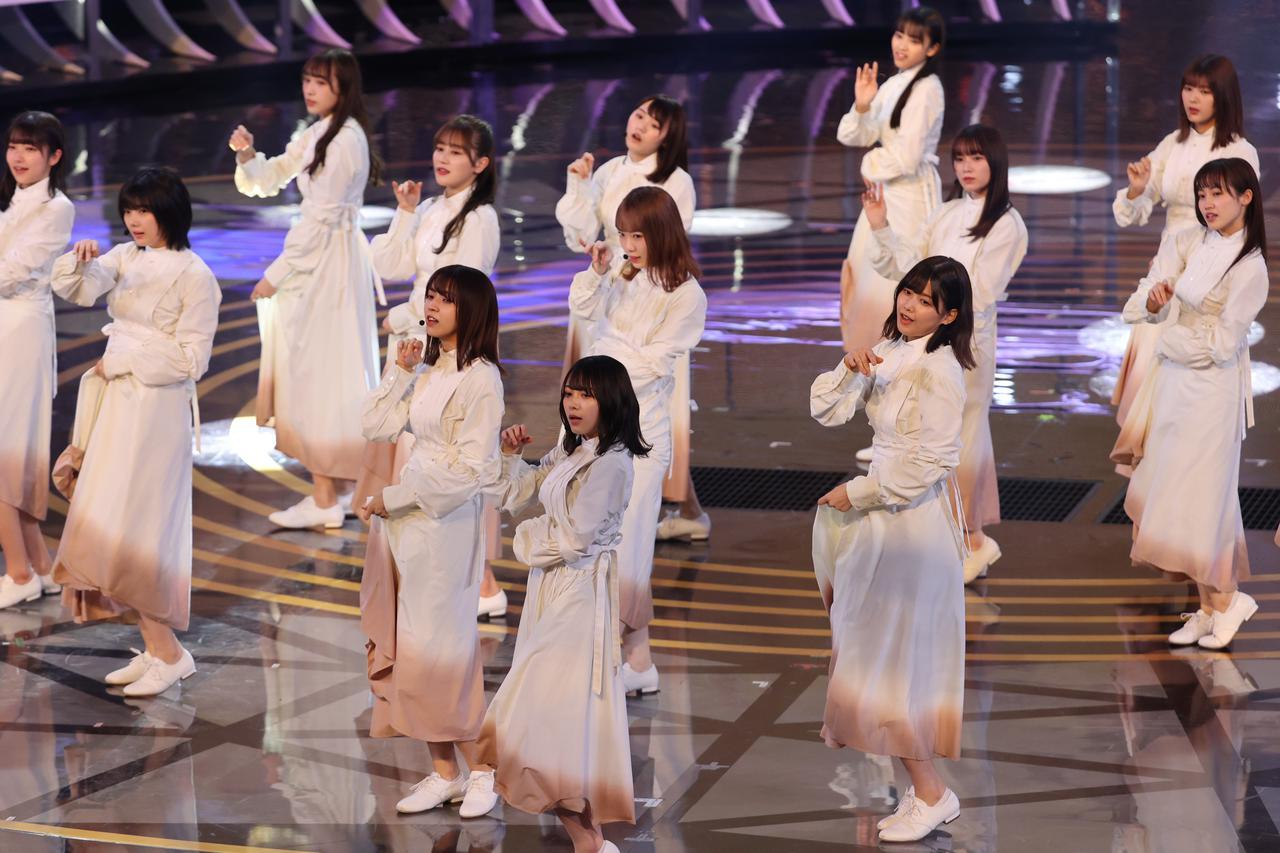 画像2: 櫻坂46 リハーサルでのパフォーマンスの模様