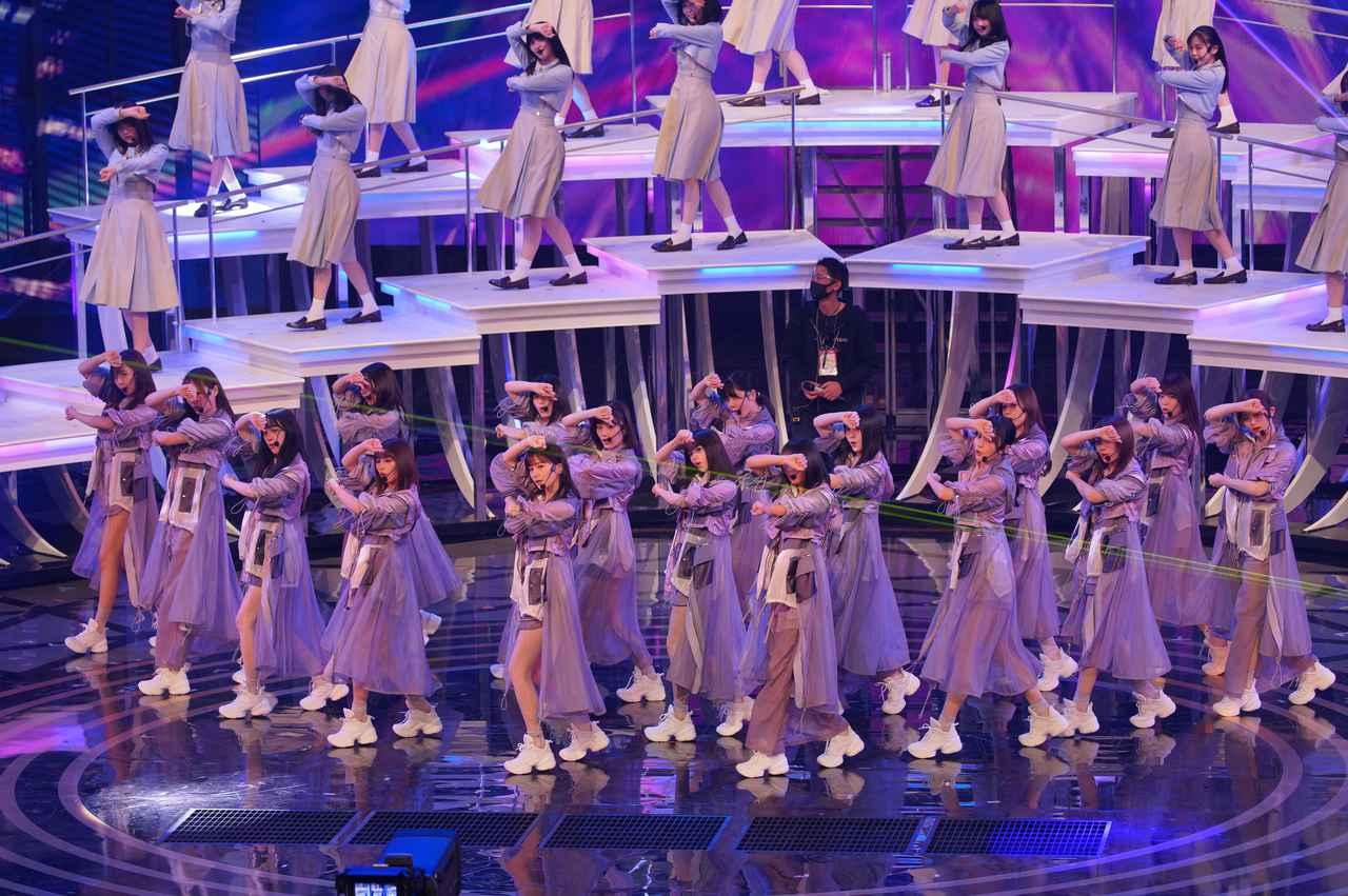 画像5: 乃木坂46 リハーサルでのパフォーマンスの模様