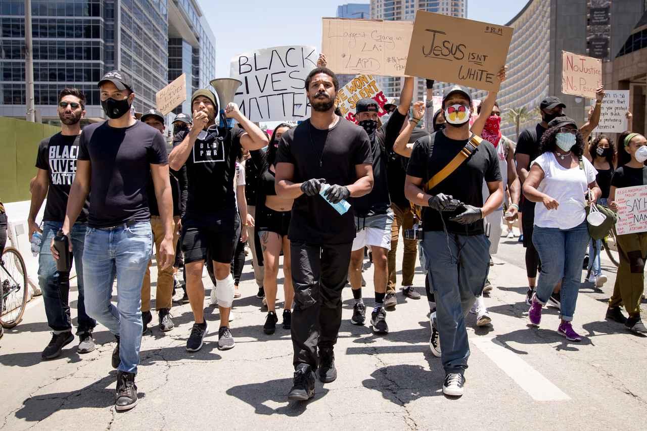 画像: ブラック・ライヴズ・マターの運動にはセレブも参加