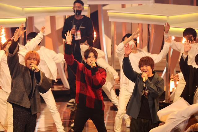 画像1: Hey! Say! JUMP リハーサルでのパフォーマンスの模様