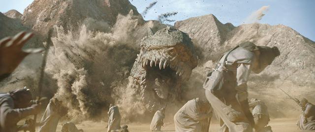 画像: ついに生きた姿で登場したクレイト・ドラゴン