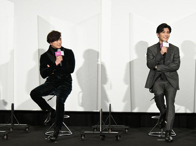 画像: 初共演の岩田剛典と新田真剣佑、お互いの印象は?