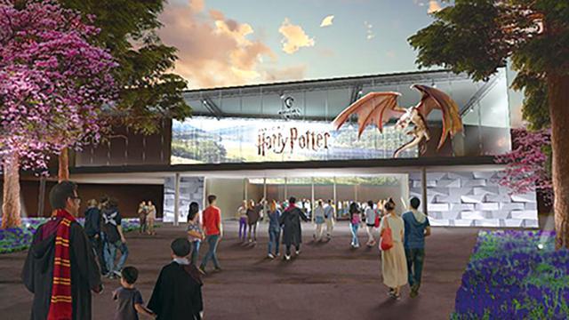 画像: ハリポタ&ファンタビ、2つの世界観を深く知る!施設入場口前は魔法動物の彫刻を配置する広場になるのだとか ワーナー ブラザース スタジオツアー東京–メイキング・オブ ハリー・ポッター/イメージ