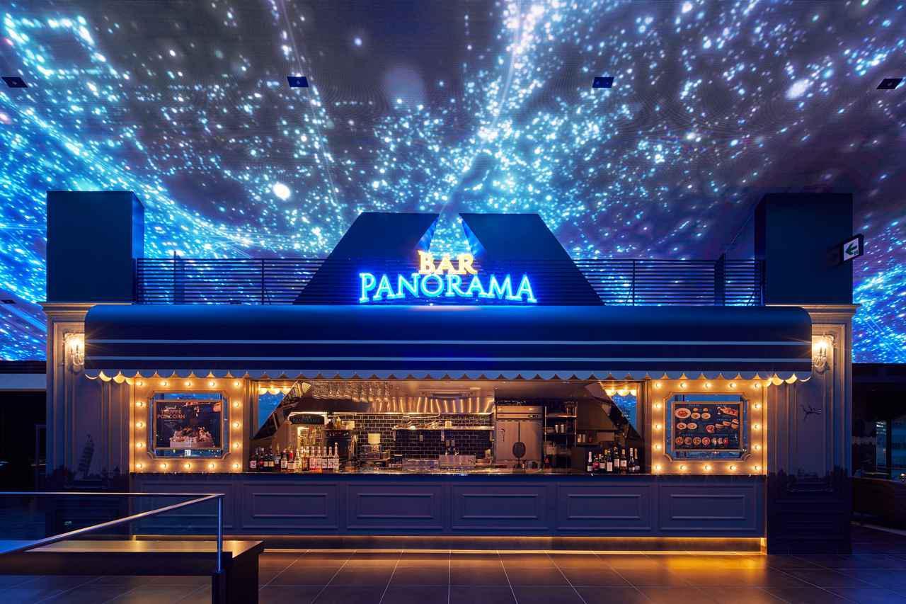 画像: 12Fにあるバール パノーラマ。パスタやピザ、アルコール類なども豊富に取り揃える www.cinemasunshine.co.jp