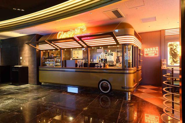 画像: 全品映画館内持ち込みOK。ワッフルだけでなく、ドリンクやスープもオススメ! www.cinemasunshine.co.jp