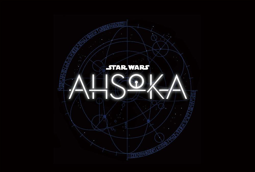 画像: 『スター・ウォーズ:アソーカ(原題)』のタイトルロゴ